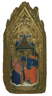 The Coronation of the Virgin with four Angels, Giovanni da Bologna