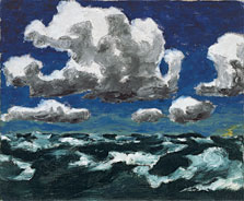 Summer Clouds, Emil Nolde
