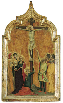 The Crucifixion, Bernardo Daddi