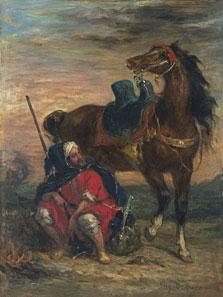 Arab Rider, Eugène Delacroix