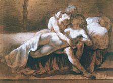 The Kiss, Théodore Géricault