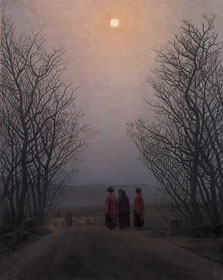 Easter Morning, Caspar David Friedrich