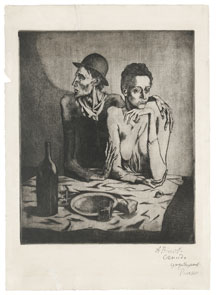 The Frugal Meal, Pablo Picasso