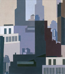 Canyons, Charles Sheeler
