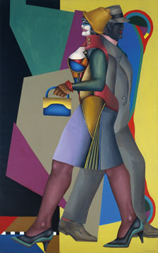 Moon over Alabama, Richard Lindner