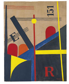 Gran pintura del ferrocarril, László Moholy-Nagy