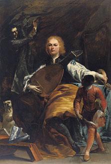 Retrato del conde Fulvio Grati, Giuseppe Maria Crespi