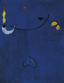 Catalan Peasant with a Guitar, Joan Miró