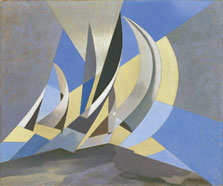 Wind, Sea and Sail, Charles Sheeler