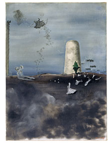 Death Watching his Family, Yves Tanguy