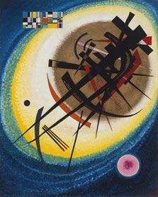 In the Bright Oval, Wassily Kandinsky