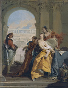 The Death of Sophonisba, Giambattista Tiepolo