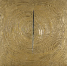 Venice Was All in Gold, Lucio Fontana