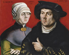 Portrait of a married Couple, Gabriel Zehender