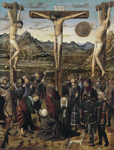 The Crucifixion,  Anonymous Valencian Artist