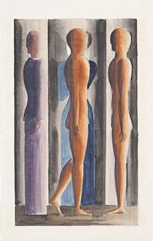 Formation. Tri-partition, Oskar Schlemmer