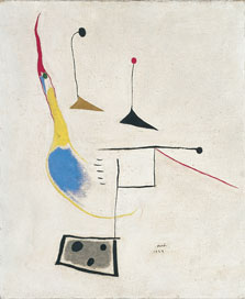 Painting on White Ground, Joan Miró