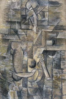 Woman with a Mandolin, Georges Braque