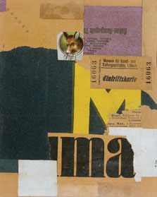 Entrance Ticket (Mz 456), Kurt Schwitters