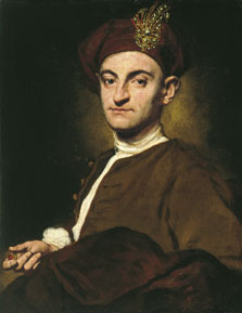Portrait of a Goldsmith, Giuseppe Ghislandi