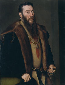 Portrait of Giovanni Battista di Castaldo, Antonis Mor
