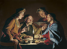 The Supper at Emmaus, Matthias Stom