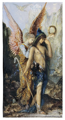 The Voices, Gustave Moreau