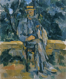 Portrait of a Peasant, Paul Cézanne