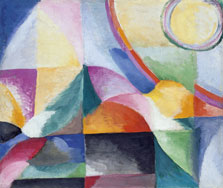 Simultaneous Contrasts, Sonia Delaunay-Terk