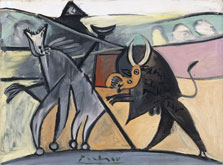 Corrida de toros, Pablo Picasso