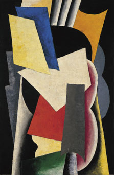 Painterly Architectonic (Still Life: Instruments), Liubov Popova