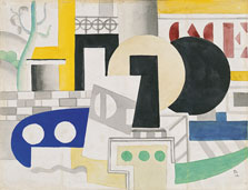 The Tugboat, Fernand Léger