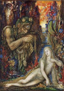 Galathea, Gustave Moreau