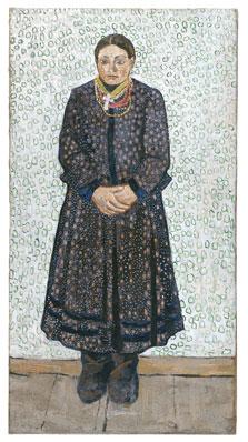 Ukrainian Peasant Woman, Vladimir Burliuk