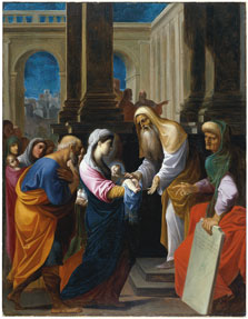 The Presentation of the Christ Child in the Temple, Ludovico Carracci