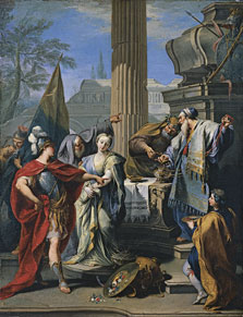 The Sacrifice of Polyxena, Giovanni Battista Pittoni