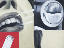 Smoked Glass, James Rosenquist