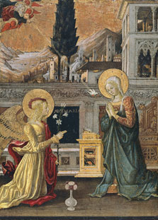 The Annunciation, Benedetto Bonfigli