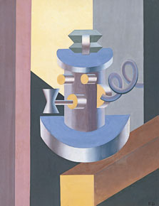 Automaton with a Pipe, Fortunato Depero
