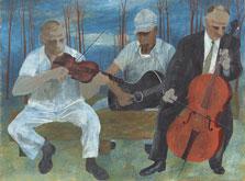 Orquesta de cuatro instrumentos, Ben Shahn