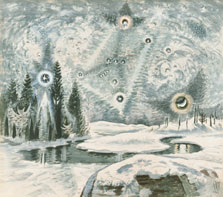 Orion in Winter, Charles Ephraim Burchfield
