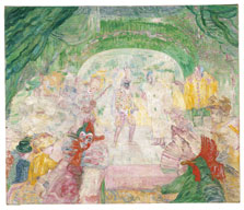 Teatro de máscaras, James Ensor