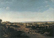 View of the Ruins of Olinda, Brazil, Frans Jansz. Post