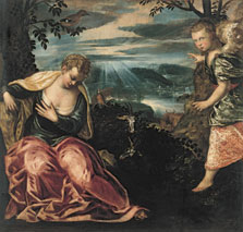 Annunciation to Manoah´s Wife,  Tintoretto