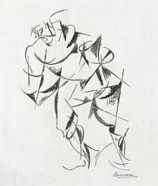 Dynamism of the Human Body: Boxer, Umberto Boccioni