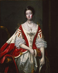 Frances, Countess of Dartmouth, Sir Joshua Reynolds