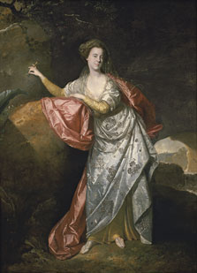 Portrait of Ann Brown in the Role of Miranda (?), Johann Zoffany