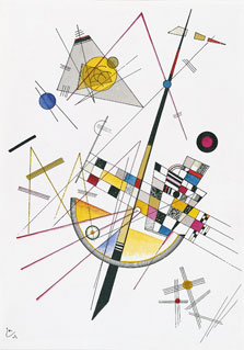 Delicate Tension, Wassily Kandinsky