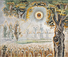 July Drought Sun, Charles Ephraim Burchfield