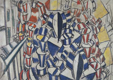 The Staircase (Second State), Fernand Léger